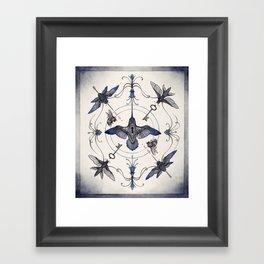 Pollinators Framed Art Print