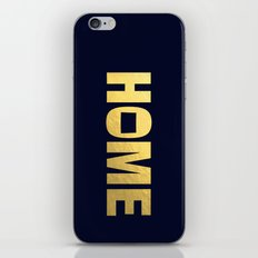 Colorado home state faux gold foil print iPhone Skin