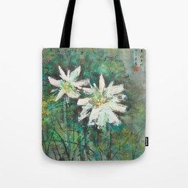 Lotus Flowers Tote Bag