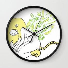 Respetar, cuidar y amar Wall Clock