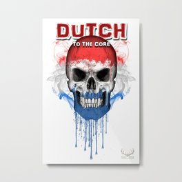 To The Core Collection: Netherlands Metal Print