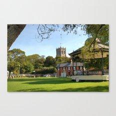 Christchurch Village Green Canvas Print