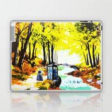 Tardis Art With Dalek Laptop & iPad Skin