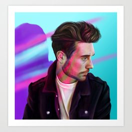 Dan Smith - Defeatist Art Print