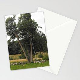 Optical Illusion, Tree-swing Stationery Cards