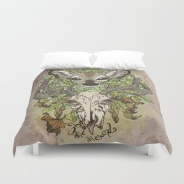 Love is a Song That Never Ends Duvet Cover