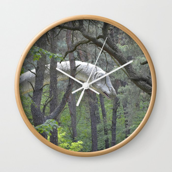 Diplodocus Wall Clock