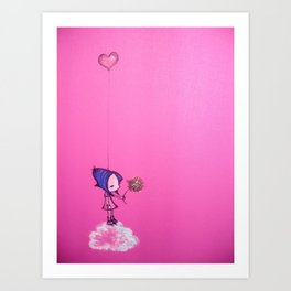 A Piece of my Heart. Art Print