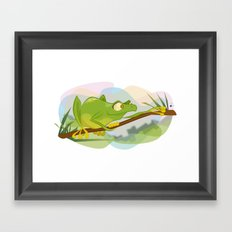 Tree Frog Framed Art Print
