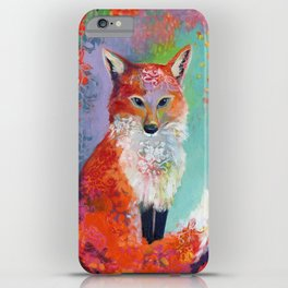 Fox Charming iPhone Case