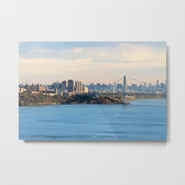 The City At Sunset Metal Print