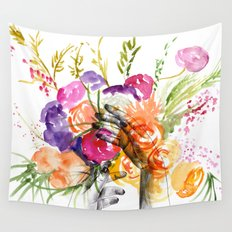 Dreaming of Spring Wall Tapestry