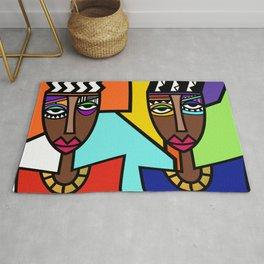 African Beauties  Rug
