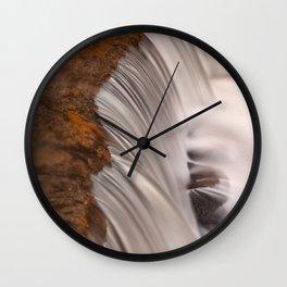 Tolliver Falls Close-up Wall Clock