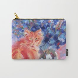 Ginger Blue Carry-All Pouch