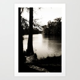 The Lazy Bayou Art Print
