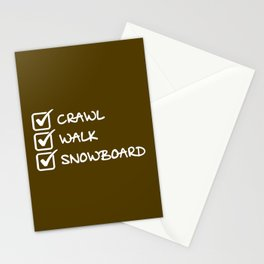 Analyse Marche Snowboard Stationery Cards