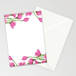 Roses crown Stationery Cards