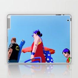 Super...on the beach Laptop & iPad Skin