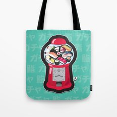 Gumball Sushi   ガチャ ガチャ 鮨 Tote Bag