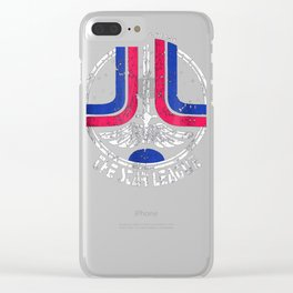 Vintage Last Starfighter Distressed Graphic T-shirt Clear iPhone Case