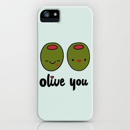 Olive You iPhone Case