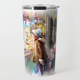 Christmas Greeting Card2 Travel Mug