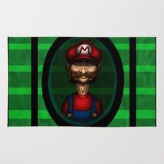 Sad Mario Rug