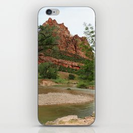 Temple of Sinawava And Virgin River iPhone Skin