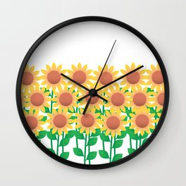 Sunflower_A Wall Clock