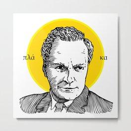 St. Feynman Metal Print