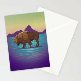 Buffalo Country Stationery Cards