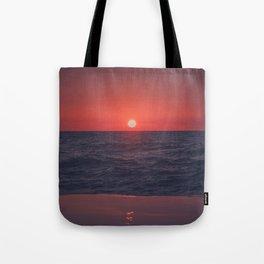 Restless Sunset Tote Bag