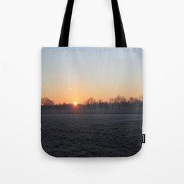 Fosty Sunrise Tote Bag