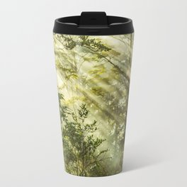 Queulat Park, Patagonia Forest Landscape, Aysen,  Chile Travel Mug