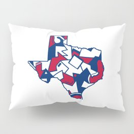 Lone Star State Love Pillow Sham