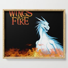 Wings of Fire Winter Serving Tray