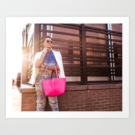 Meatpacking and Fashion Art Print