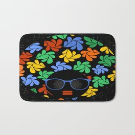 Afro Diva : Colorful Bath Mat