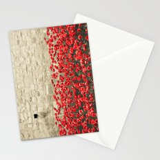 Tower Poppies 02A Stationery Cards