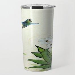 Kingfisher And Narcissus Travel Mug