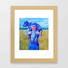 Prodigal Calf (*Koinonia*) Framed Art Print