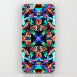 Colorful Geometric Abstract iPhone Skin