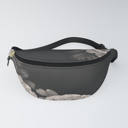 Flowers on a winter night Fanny Pack