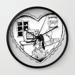 """gum - moose blood"" Wall Clock"