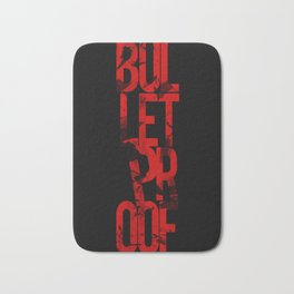 Bulltetproof Dark Bath Mat