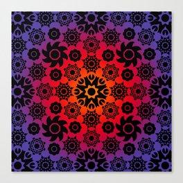Revolvingon Octa Canvas Print