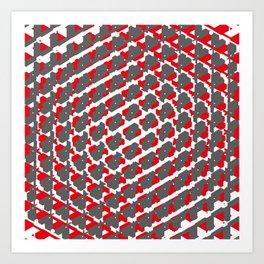 Hexbomb Art Print