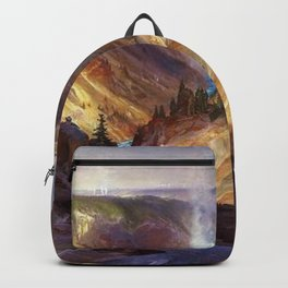 The Grand Canyon of the Yellowstone by Thomas Moran Backpack