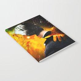 Burning Up Notebook